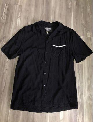 🚚 Black Factorie Sheen Vintage Bowling Shirt