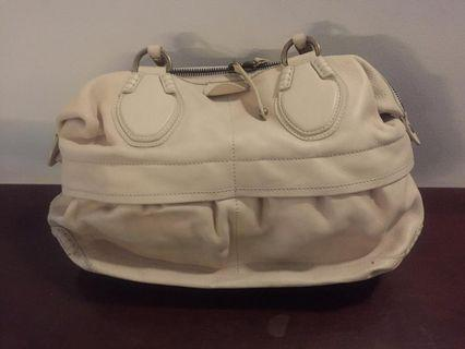 Tods bag cream with db