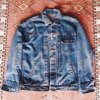 Humblezing type-1 washed denim jacket