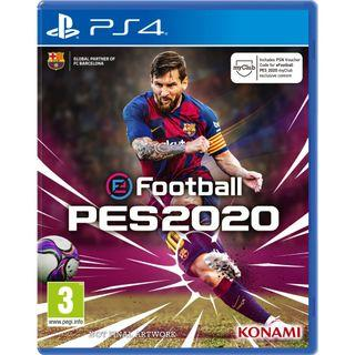 (Pre-order) PS4 eFootball PES 2020 (European PAL, English) - Pro Evolution Soccer Football