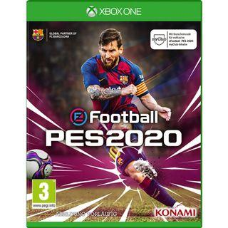 (Pre-order) X1 XBox One X eFootball PES 2020 (European PAL, English) - Pro Evolution Soccer Football