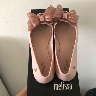 Melissa Ultragirl Sweet XIV Flats in Light Pink