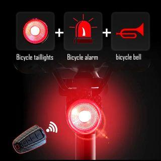 ***In-Stock = Wireless Theft Alarm Remo Bike LED Portable USB Rechargeable Rear Light Bell Cycling Flash Taillight Lamp Antusi A6s https://youtu.be/12vgeG4tgaM