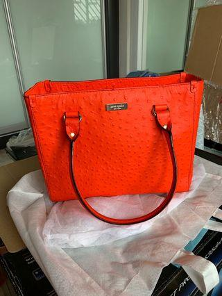 Kate Spade Bag Ostrich leather