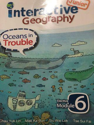 Junior Interactive geography E6 Oceans in trouble