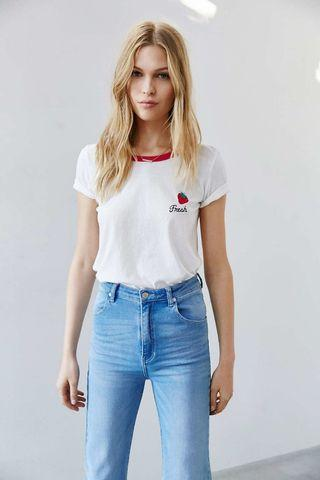 Urban outfitters Strawberry shirt
