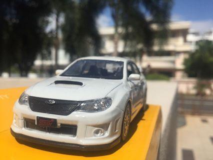 Subaru Impreza WRX STI 4D 1:36 model