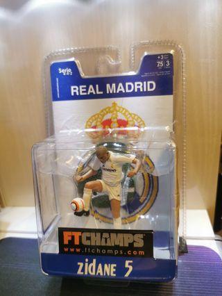 Real Madrid #5 Zidane 3吋公仔
