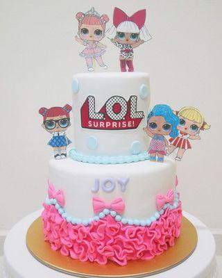 🚚 LOL cake