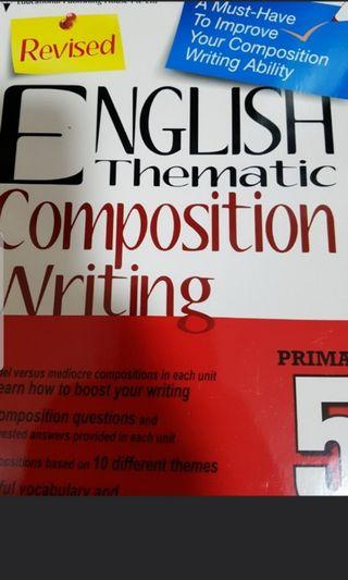 Brand New Pri 5 English Composition Writing