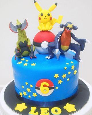 🚚 Pokemon cake