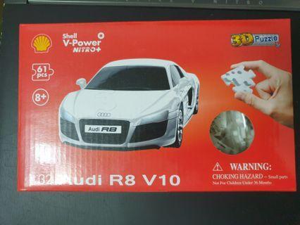 Shell 3D Puzzle: Audi / Full Set