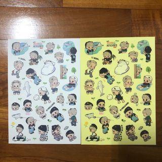 🚚 EXO Fanart Stickers by Ankokai