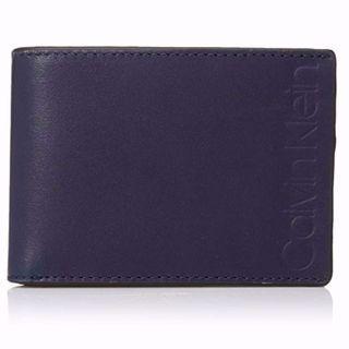 Calvin Klein leather slimfold 銀包 #MTRtaiwai