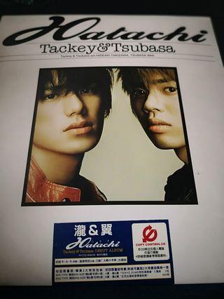 《瀧與翼》Tackey & Tsubasa Debut Album + 第二張大碟