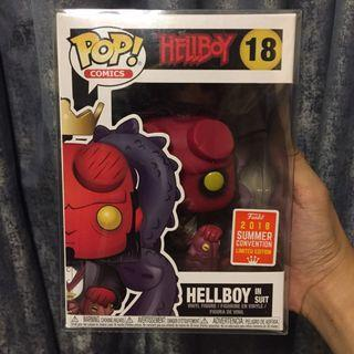 Hellboy in a suit POP!