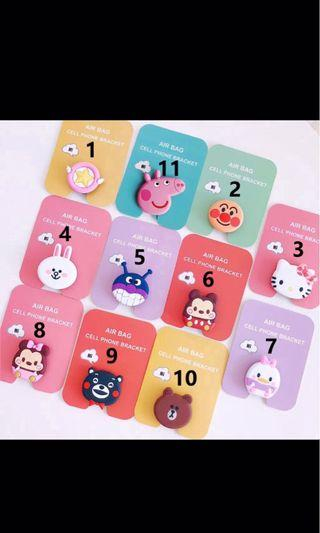 READYSTOCK Cute Finger Ring phone for Popsocket
