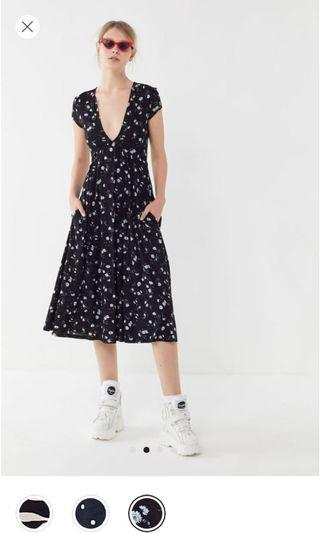 urban outfitters cute midi sundress floral dress