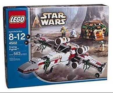 Lego 4502+10240 Star Wars X-wing bundle set