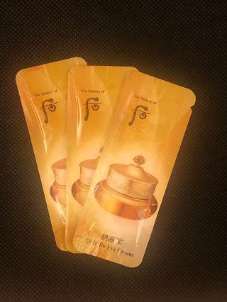 The History Of Whoo 后 (Qi & Jin Eye Cream) 3 packs