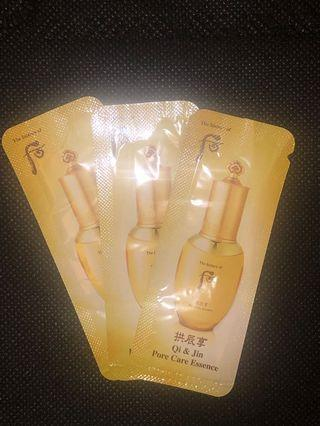 The History of Whoo 后 (Qi & Jin Pore care Essence) 3 pack