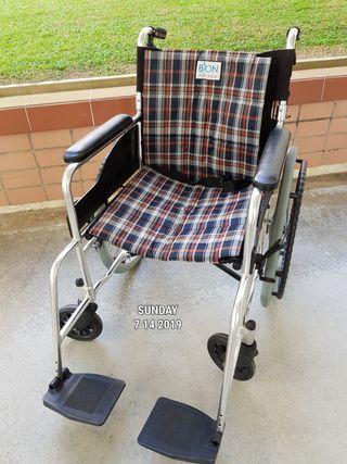 Branded lightweight, foldable wheelchair