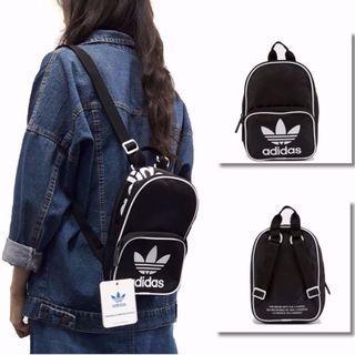 Adidas Originals SANTIAGO MINI BACKPACK 小背包 黑色 #MTRtaiwai