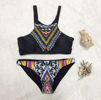 SALES!! FREE DELIVERY!! Ready Stock Aztec Bikini