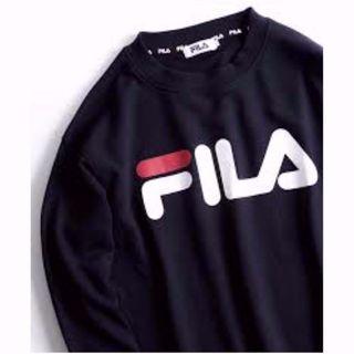 🇯🇵日版 FILA 衛衣 sweatshirt NAVY色 #MTRtaiwai