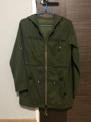 Military Green Outerwear