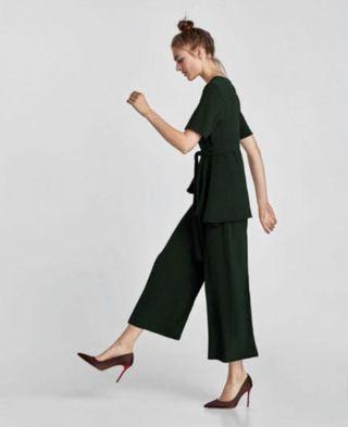 Zara wide leg trouser