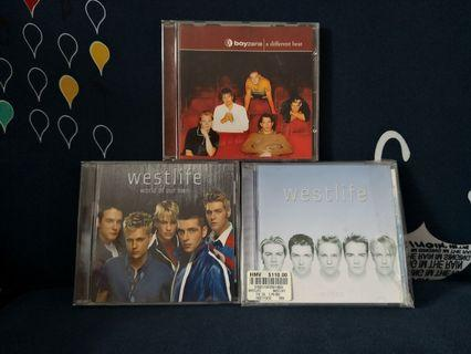 Westlife & Boyzone CD