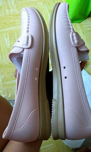 NEW sepatu pink cantique rubber jelly