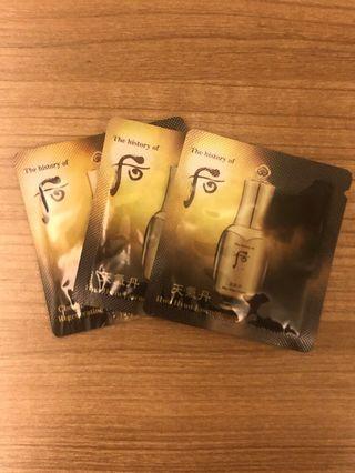 The History Of Whoo 后 (Hwa Hyun Essence) 3 packs