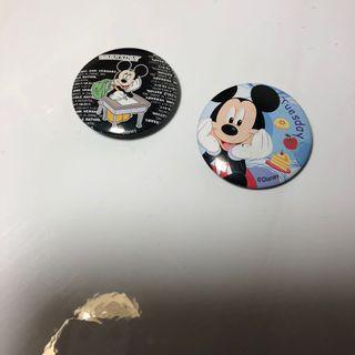 🚚 迪士尼 米老鼠 米奇 別針 #轉轉臉紅紅