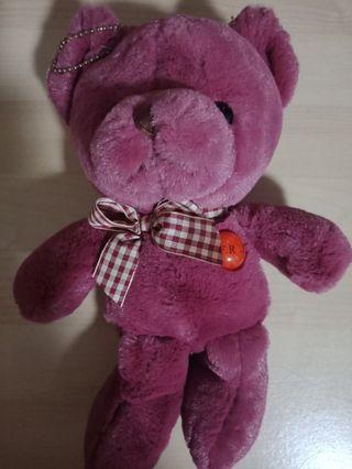 Teddy Bear Bag Key Chain