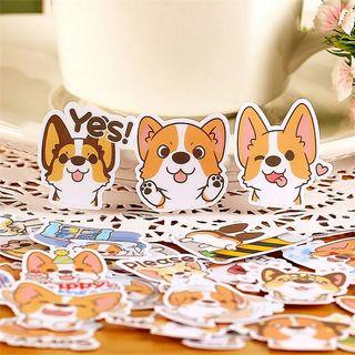 [ PO ] Cute Corgi Sticker Pack
