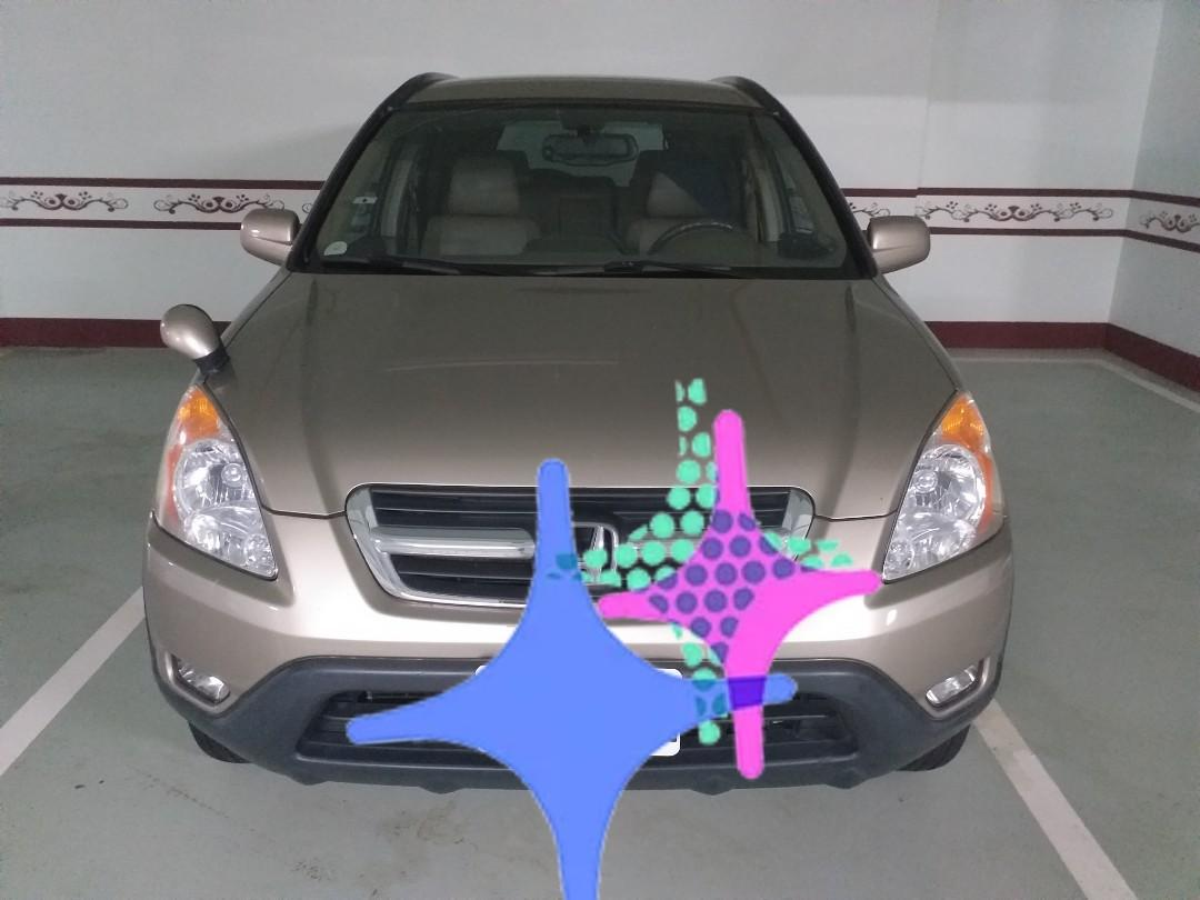 最愛休旅- Honda CRV 04年 14萬公里狀況良好 #轉轉臉紅紅