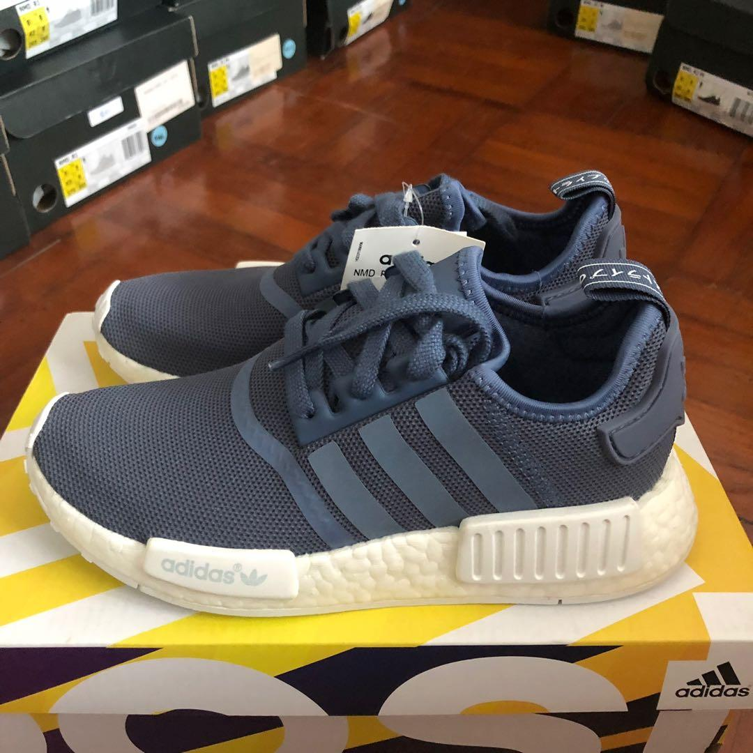 Adidas NMD R1 Womens Tech Ink White on Carousell