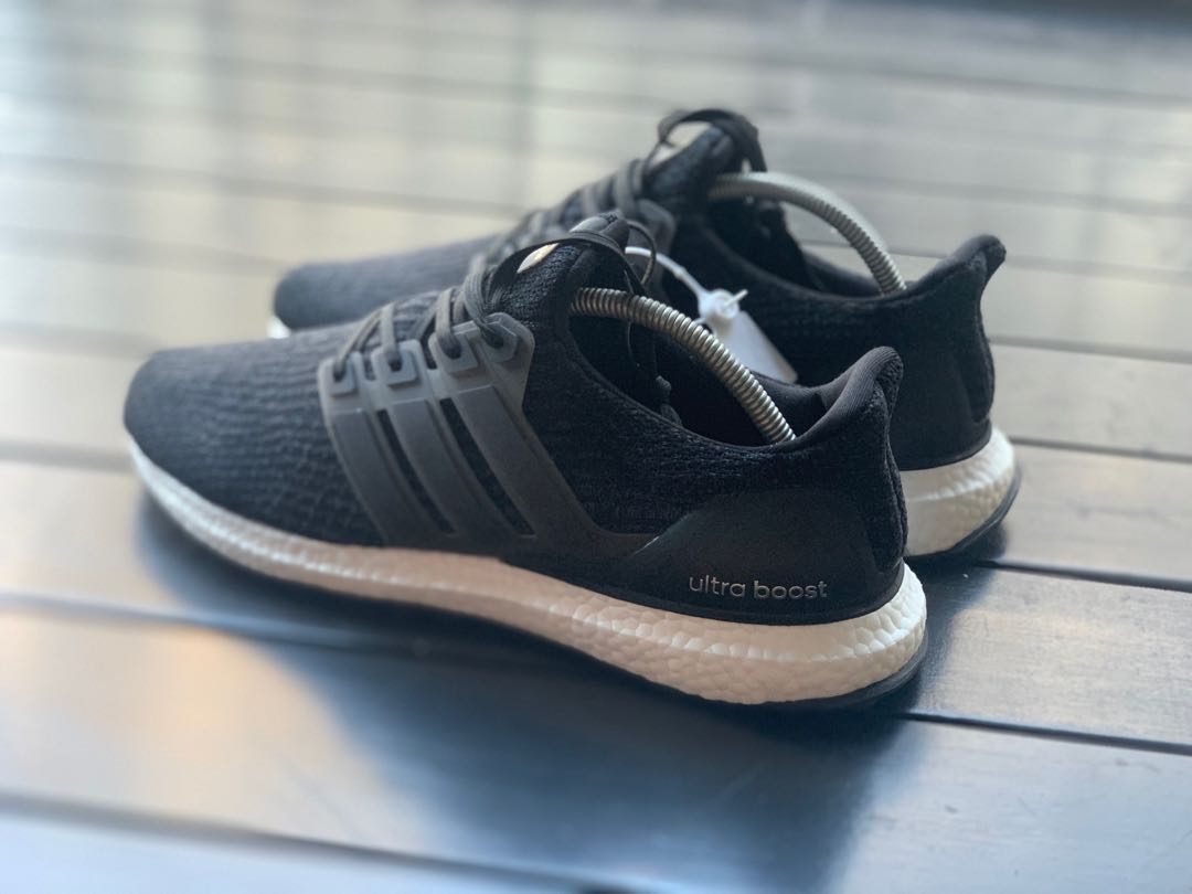 daf38bf2 Adidas Ultra Boost 3.0 Core Black INSTOCK, Men's Fashion, Footwear,  Sneakers on Carousell