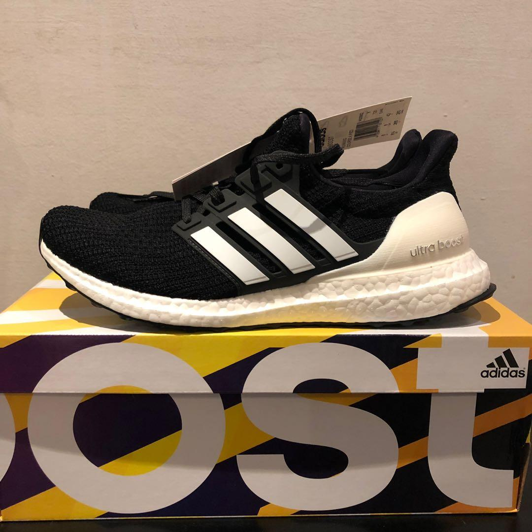 Adidas Ultra Boost 4.0 'Show Your Stripes' Black, Men's