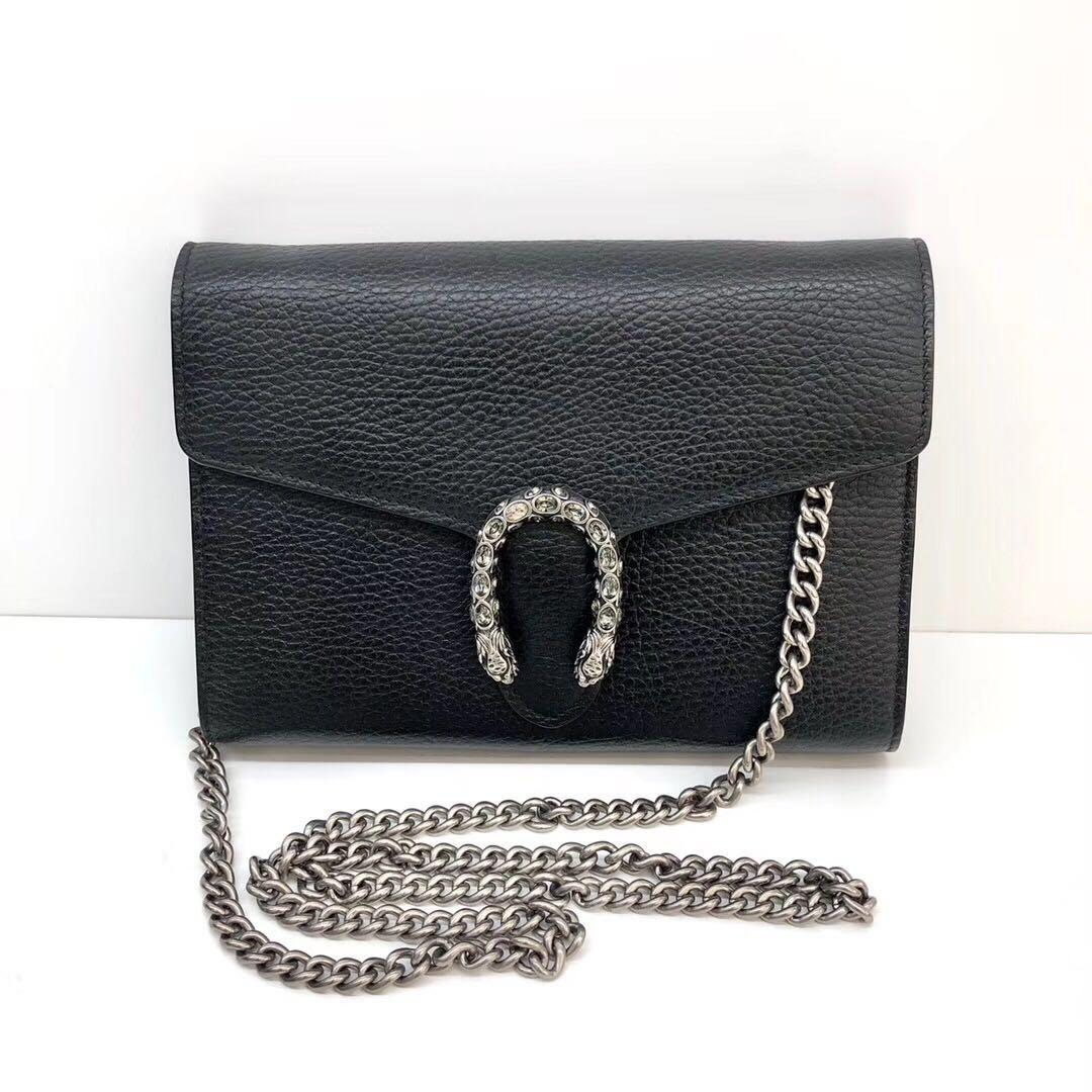 Authentic Pre-loved Gucci Dionysus Wallet On Chain