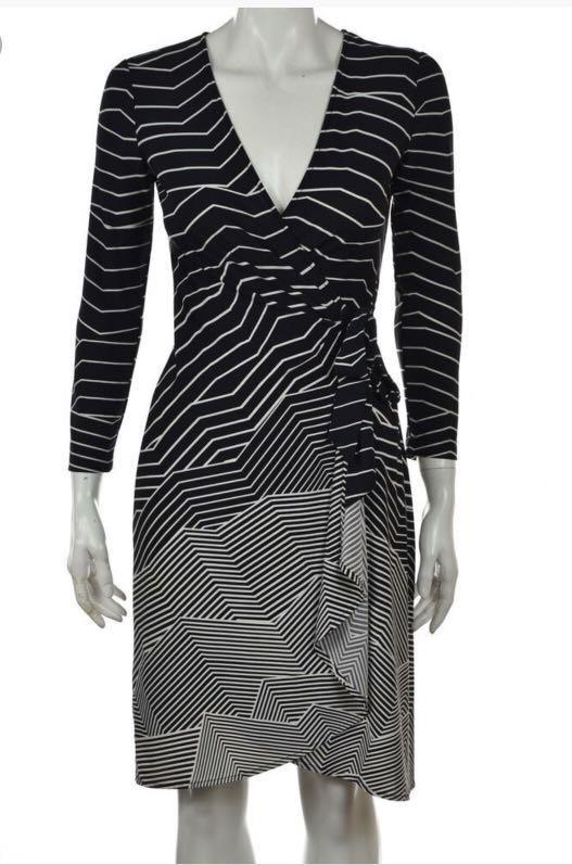 BCBGMAXAZRIA Adele Wrap dress