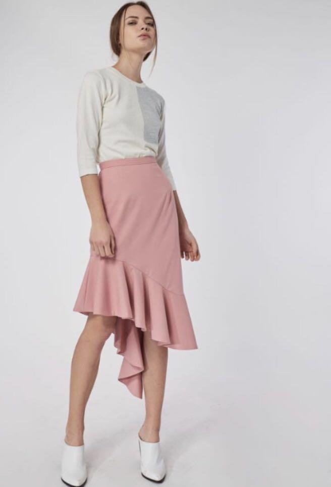 BNWT - Collate Asymmetrical Flounce Skirt