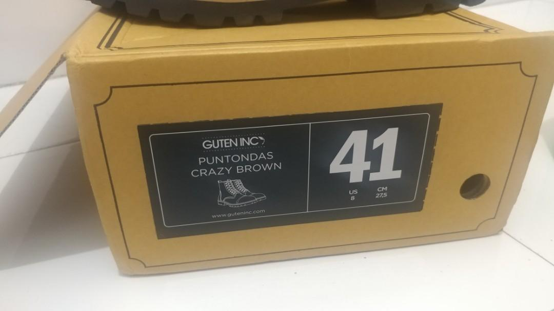 Boots Guten Inc Puntondas Crazy Brown 41