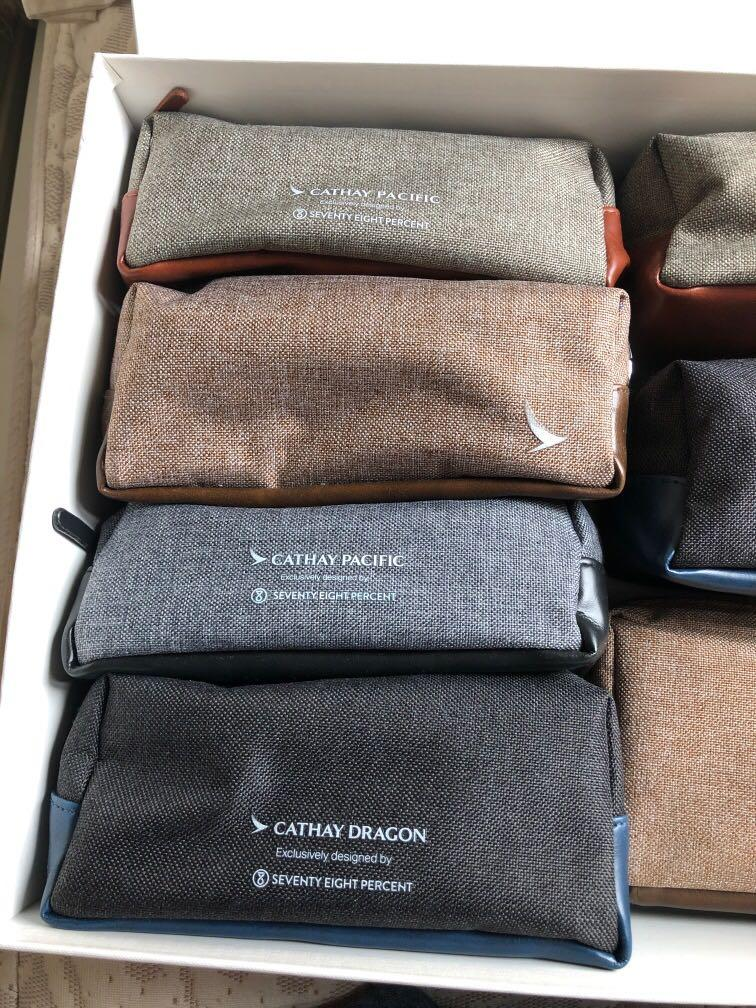 Cathay Pacific Business Class Amenity Kits 國泰航空 CX