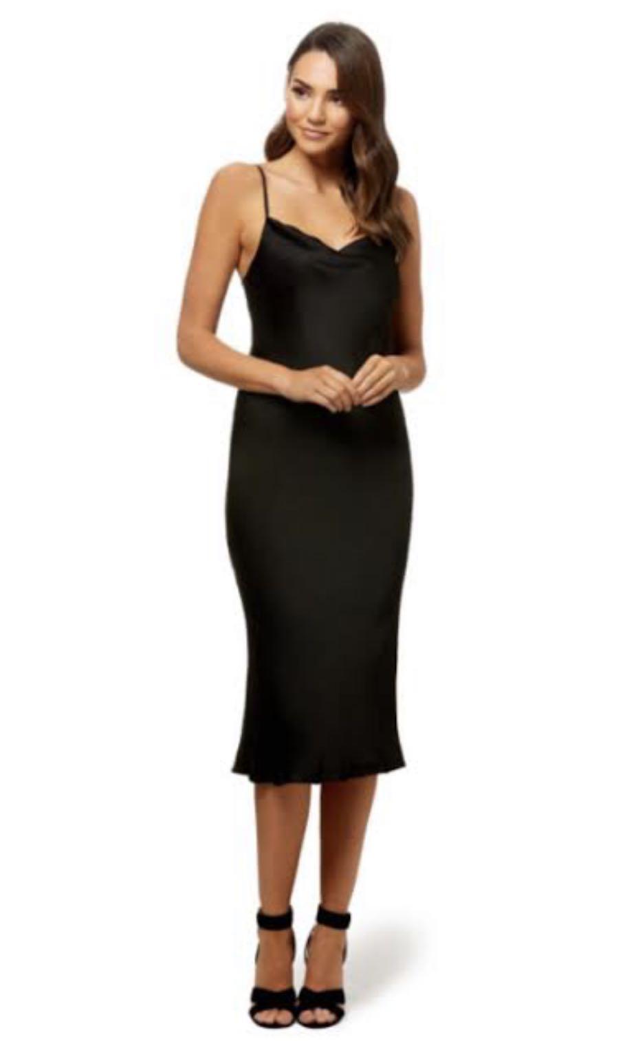 Fenton Dress Black