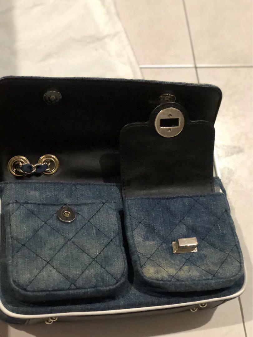 Guess Denim Handbag