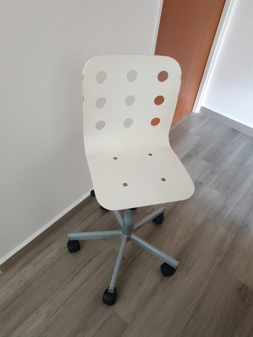 Groovy Ikea Jules Children Desk Chair Theyellowbook Wood Chair Design Ideas Theyellowbookinfo