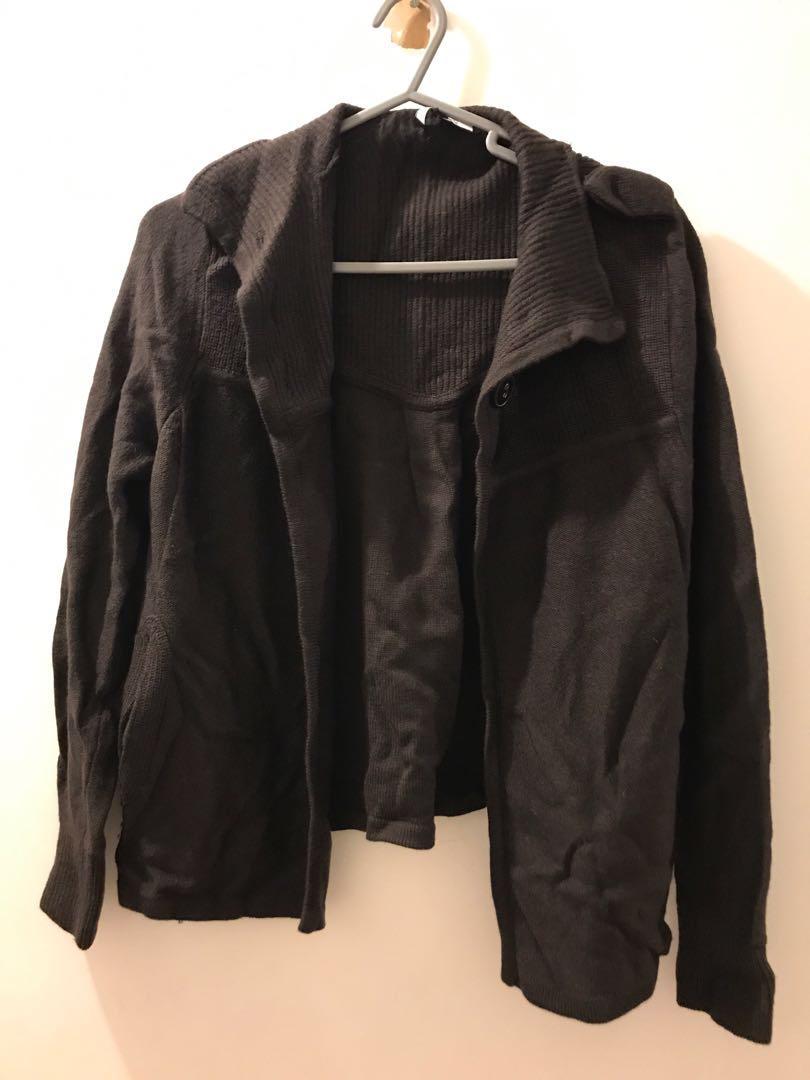 Jaeger jacket 100% merined wool 羊毛 外套啡色 brown